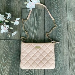 Kate Spade Pink Quilted Purse